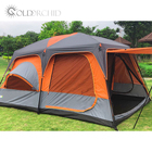 Family Out Camping Tent Camping Party Outdoor Multi-window Ventilation Cool Luxurious Big Family Tent
