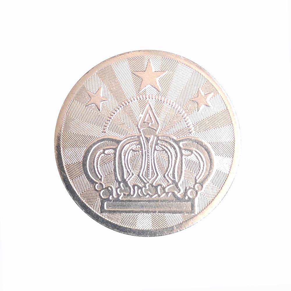 Оптовая продажа, индивидуальный стирка, развлечения, персонализированная аркадная игра, жетон, монета, металлические игровые монеты, торговый автомат, жетон