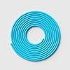2.8 m blue PVC rope