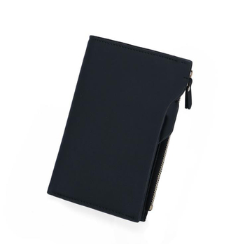 2021 Fashion Casual Wallet For Men Driver'S License Business PU Leather Zipper Multi-Card Holders
