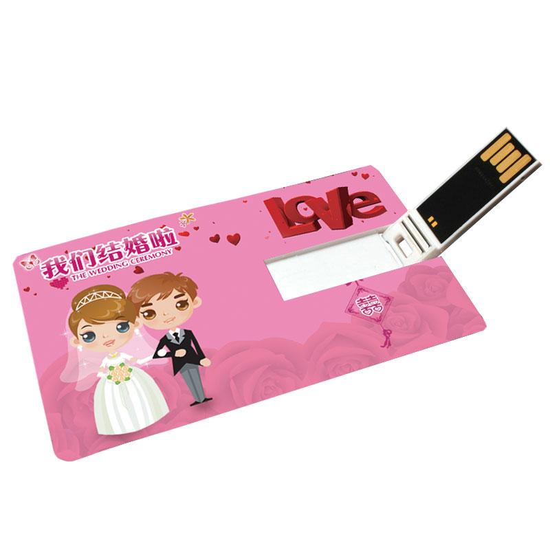 Factory hot sale wedding gift usb memory stick business card pendrives - USBSKY   USBSKY.NET