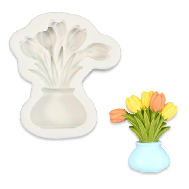 Tulip Planter Silicone Mold