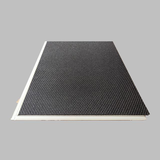 Хит продаж, жесткий виниловый пол SPC click для рынка США, 3,5 мм + 1,5 мм IXPE