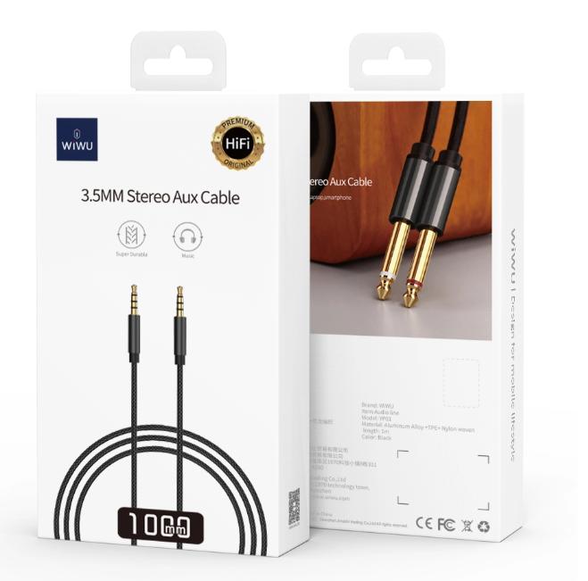 WiWU 3.5mm 音频数据线 YP01 (https://www.wiwu.net.cn/) 数据线 第2张