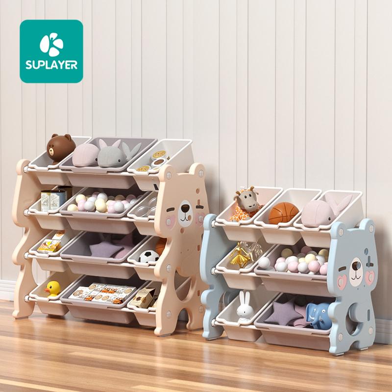 Stylish preschool cartoon nursery cabinet storage indoor bedroom kindergarten daycare baby school kids children furniture sets