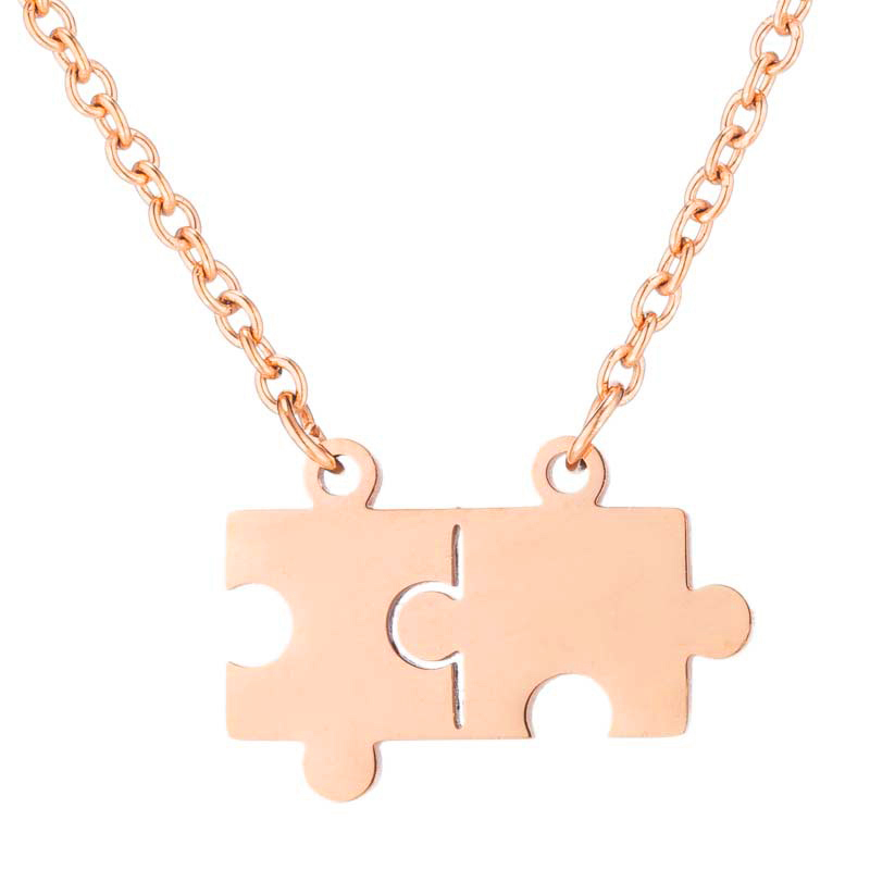Puzzled 4 Necklace