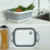 Folding Cutting Board Collapsible Dish Pan Washing Bowl  Dish Washing Tub Multifunctional Plastic Washing Drain Basket Sink