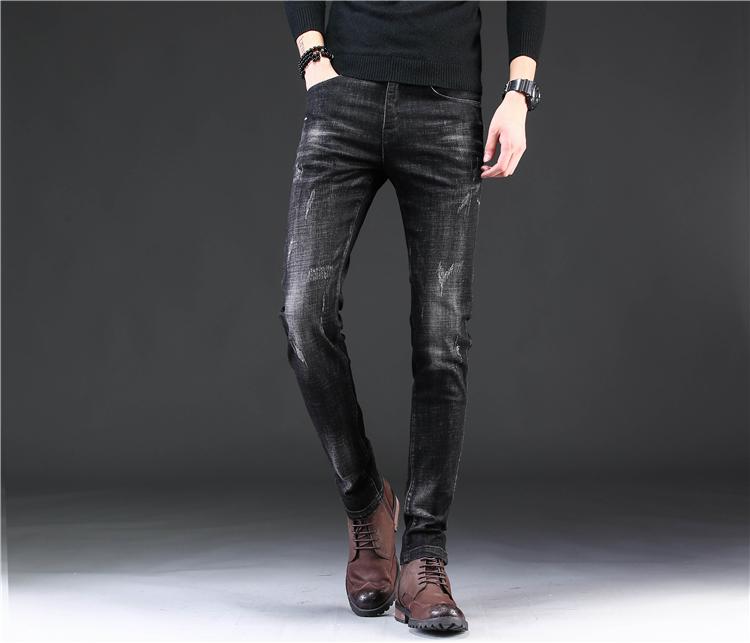 Pantalones De Algodon Para Hombre Ropa Casual Personalizada Color Negro Al Por Mayor Oem Pantalones De Moda Para Hombre Buy Pantalones Vaqueros Para Hombre Vaqueros De Moda Para Hombre Vaqueros Negros Para Hombre Product On Alibaba Com