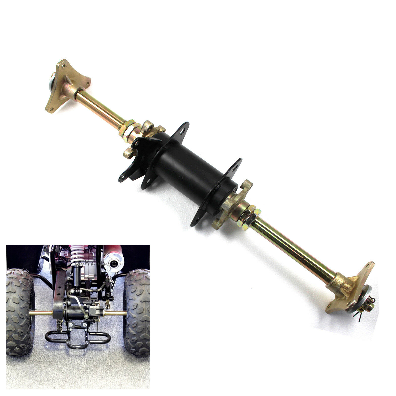 Professional Atv Trailer Half Torsion Rear Axle View Rear Axle Hishen Product Details From Ningbo Yinzhou Hishen Hardware Co Ltd On Alibaba Com