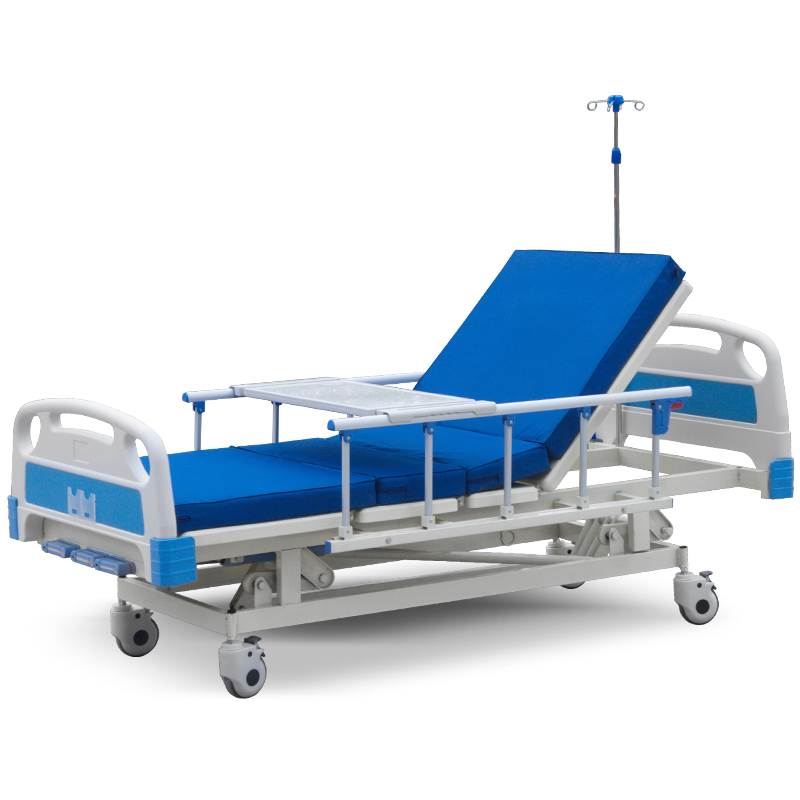 adjustable wholesale factory price manufacture cheap 3 cranks medical bed