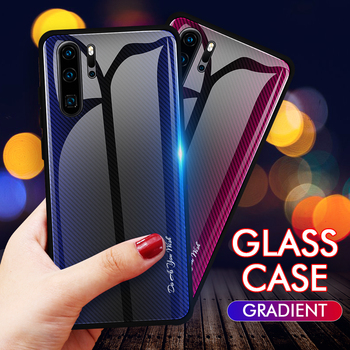 Cheap Price For Huawei P30 Pro Shell Scratchproof Tempered Glass Phone Back Cover For Huawei P30 Phone Case