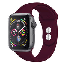 Ремешок для apple watch 38 мм 42 мм iwatch 4 ремешок 40 мм 44 мм для apple watch 5 ремешок силиконовый ремешок Браслет Apple watch 3 2 ремешок(Китай)