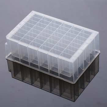 Lab Supplies PP Plastic 4.6ml Clear 96-Wells 48 Wells Deep Plate