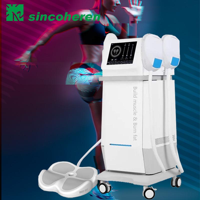 Femsculpting HIEMT 5 handles rf Sinco EMSlim neo muscle stimulator device body sculpting machine