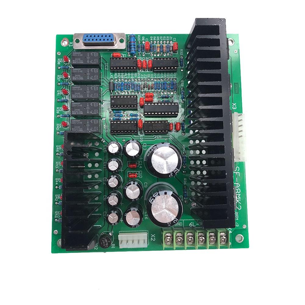 EDM Machine Parts Servo Board Driver Card SF-A8MK2 Control System for New Jinma CNC Small Hole Machine