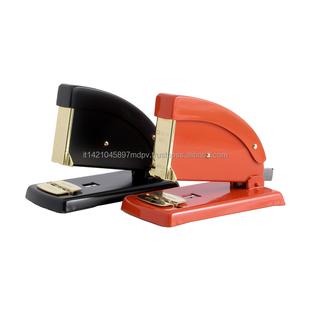 Top Quality Office Metal Desk Stapler In Gold ZENITH 520