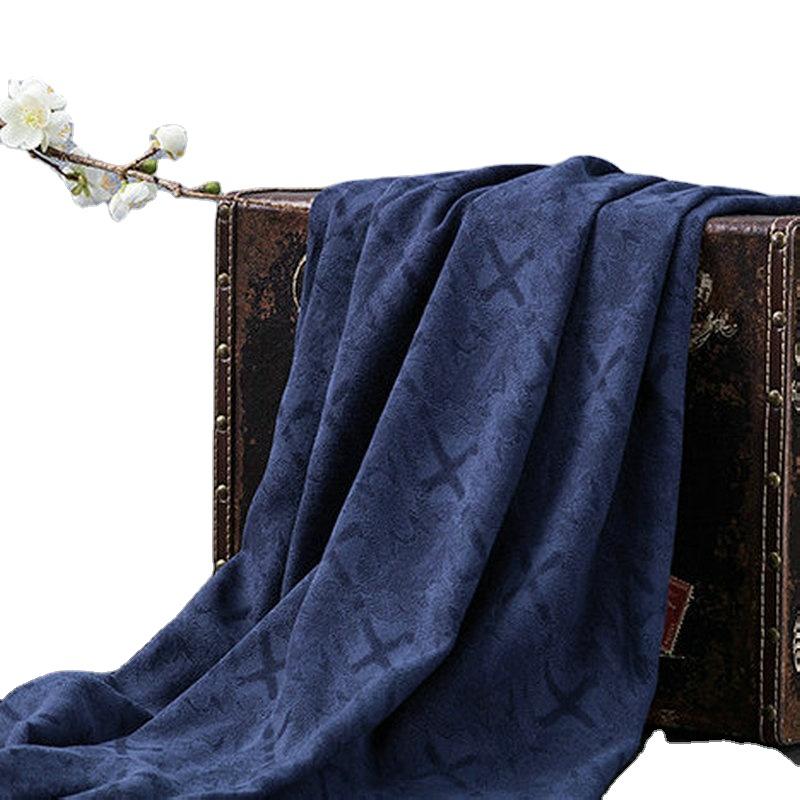 Жаккардовая льняная ткань, льняная одежда