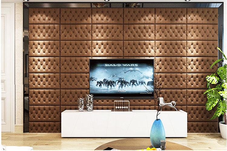 2020 Популярные 3d обои для интерьера комнаты, самоклеящиеся обои xpe, настенное покрытие из пены без запаха, настенные 3d наклейки для безопасного дома