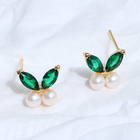 2020 new style latest fashion earring freshwater button pearl jewelry for women
