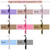 Single Color Plastic Lash Tweezers