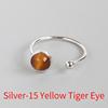 Silver-15 Yellow Tiger Eye