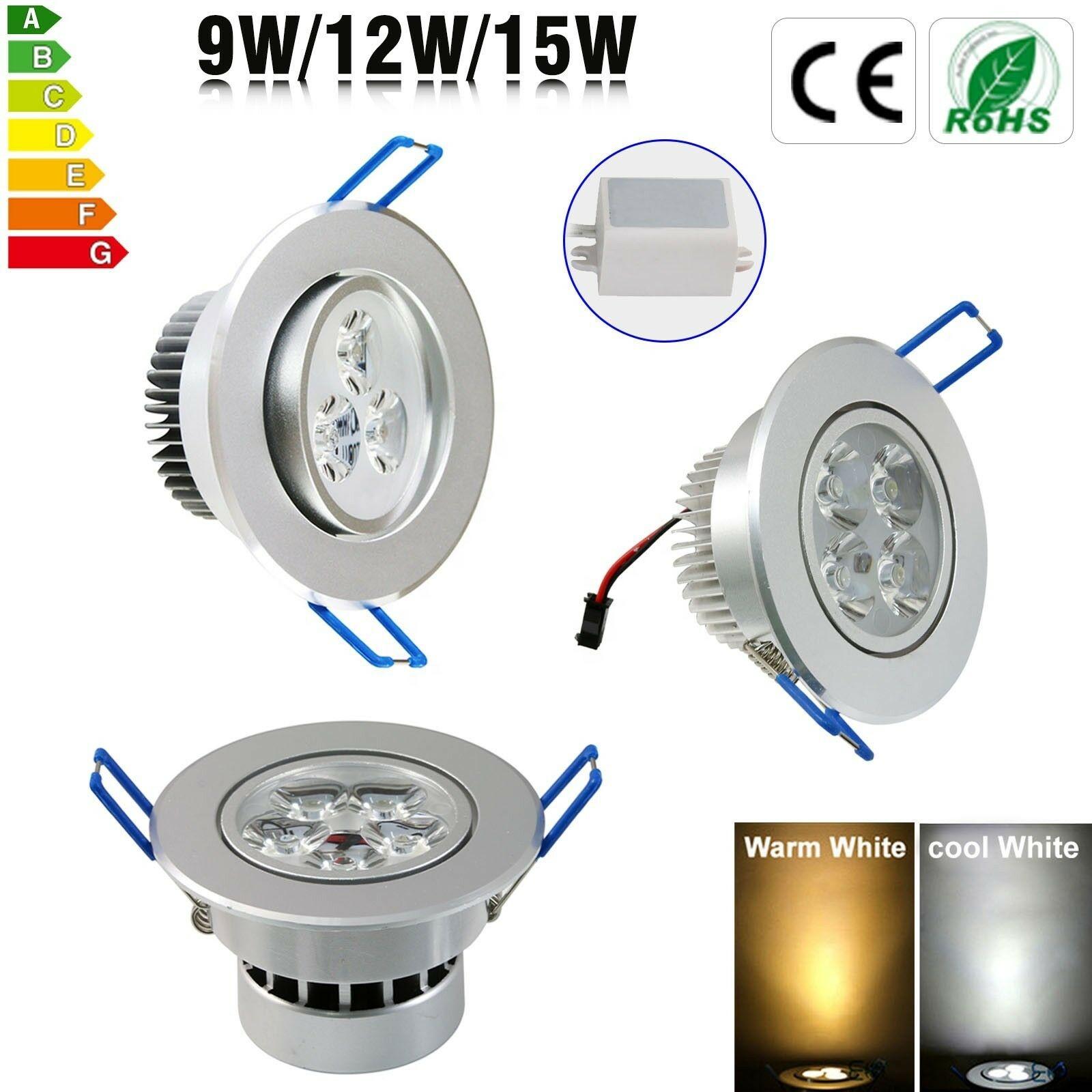 5W Dimmable LED Downlight Spotlight Recessed Ceiling Down Light Bulb Lamp  110v/220v