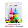 6 colors finger crayon set