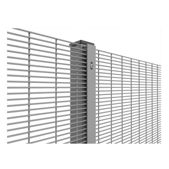 High security anti climb galvanised 358 fence
