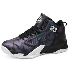 Мужские баскетбольные кроссовки Jordan с высоким берцем, легкие баскетбольные кроссовки с амортизацией, Мужская дышащая Спортивная обувь для ...(Китай)