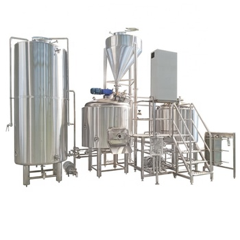 1500L 15HL ss steam two vessel semiauto beer brewing