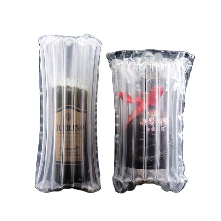 750 мл бутылки вина безопасности шок доказательство Защитная крышка с воздушной подушкой для пневмоколонки Защитный пакет портативный надувной пакет обруча