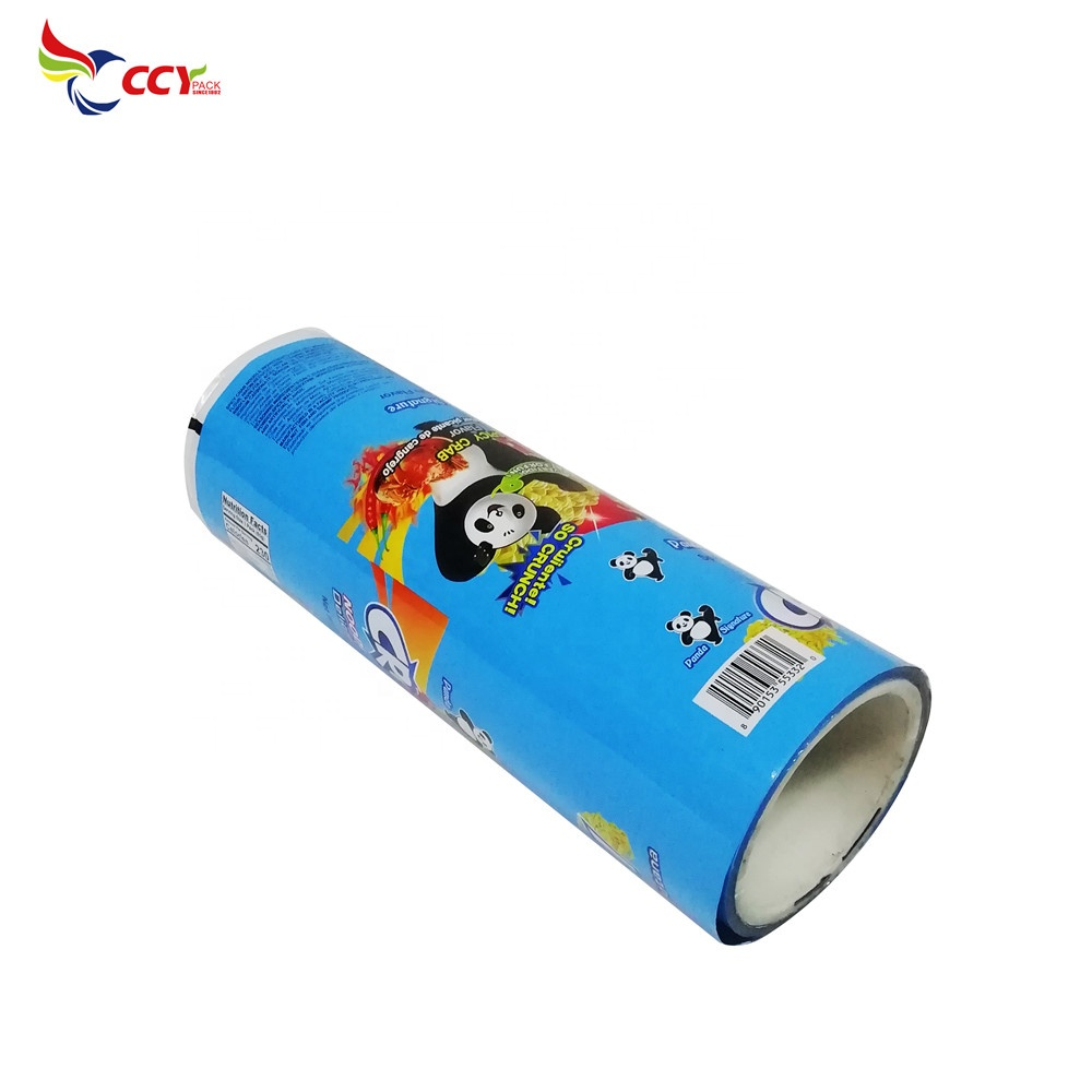 Sachet packaging snack automatic packing OPP film roll