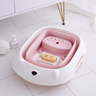 Old Baby Bath 0-6 Years Old Children Use Folding Plastic Shower Tub Portable Bathroom Use Water Bucket Bath Tub For New Born Babies
