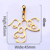 7 gold 38*45mm