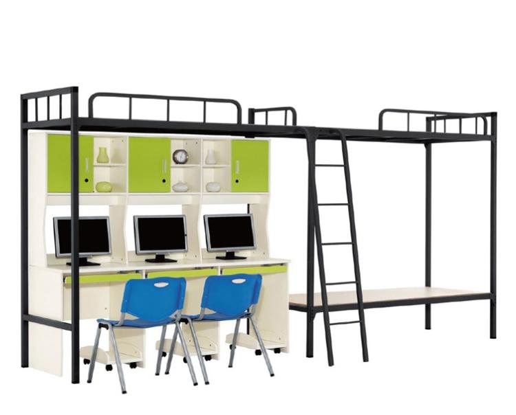Yekalon лучший выбор исключительное качество Заводская низкая цена современная школьная мебель кровать металлическая кровать для квартиры