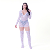 LS002(lace onesie with socks)