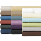 100%polyester Sheet Set 4 piece Fitted Sheet Cheap Hotel Duvet Cover bed Sheet Sets