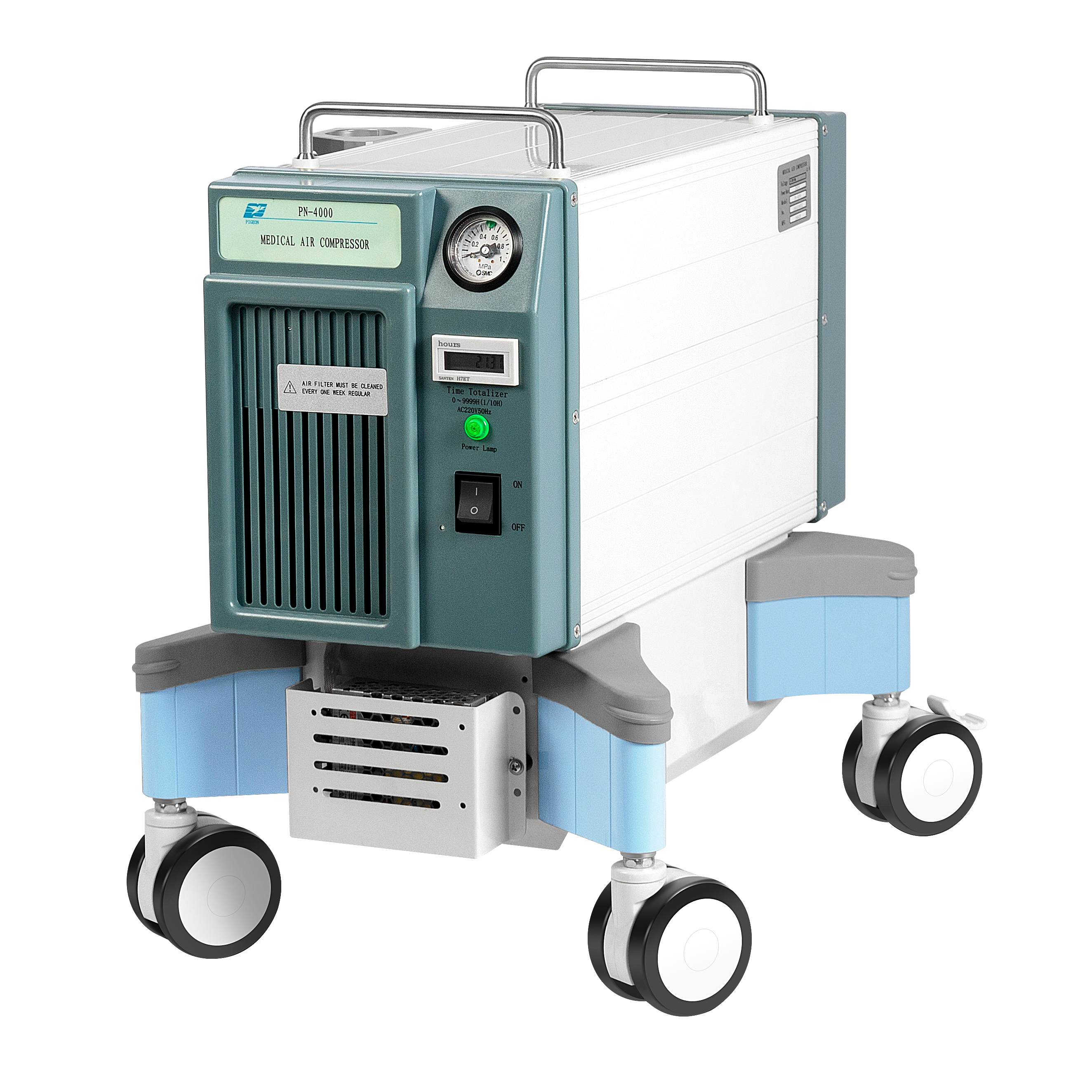 CE ISO Approved Super Silent Medical Compressor For Mechanical Ventilation Ventilators - KingCare | KingCare.net
