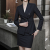 NAVY(Blazer+skirt)