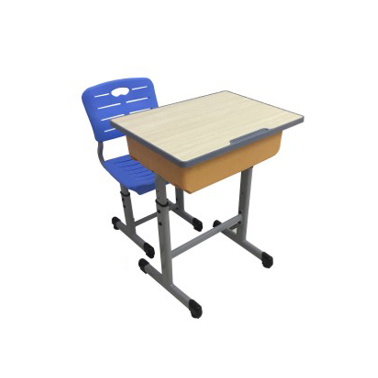 Высококачественная школьная мебель, регулируемый одинарный и двойной школьный стол и стул для взрослых и детей