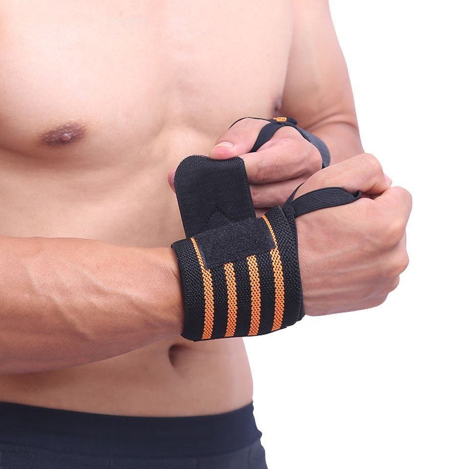 Weightlifting Compression Support Protector Wrist Brace Wraps