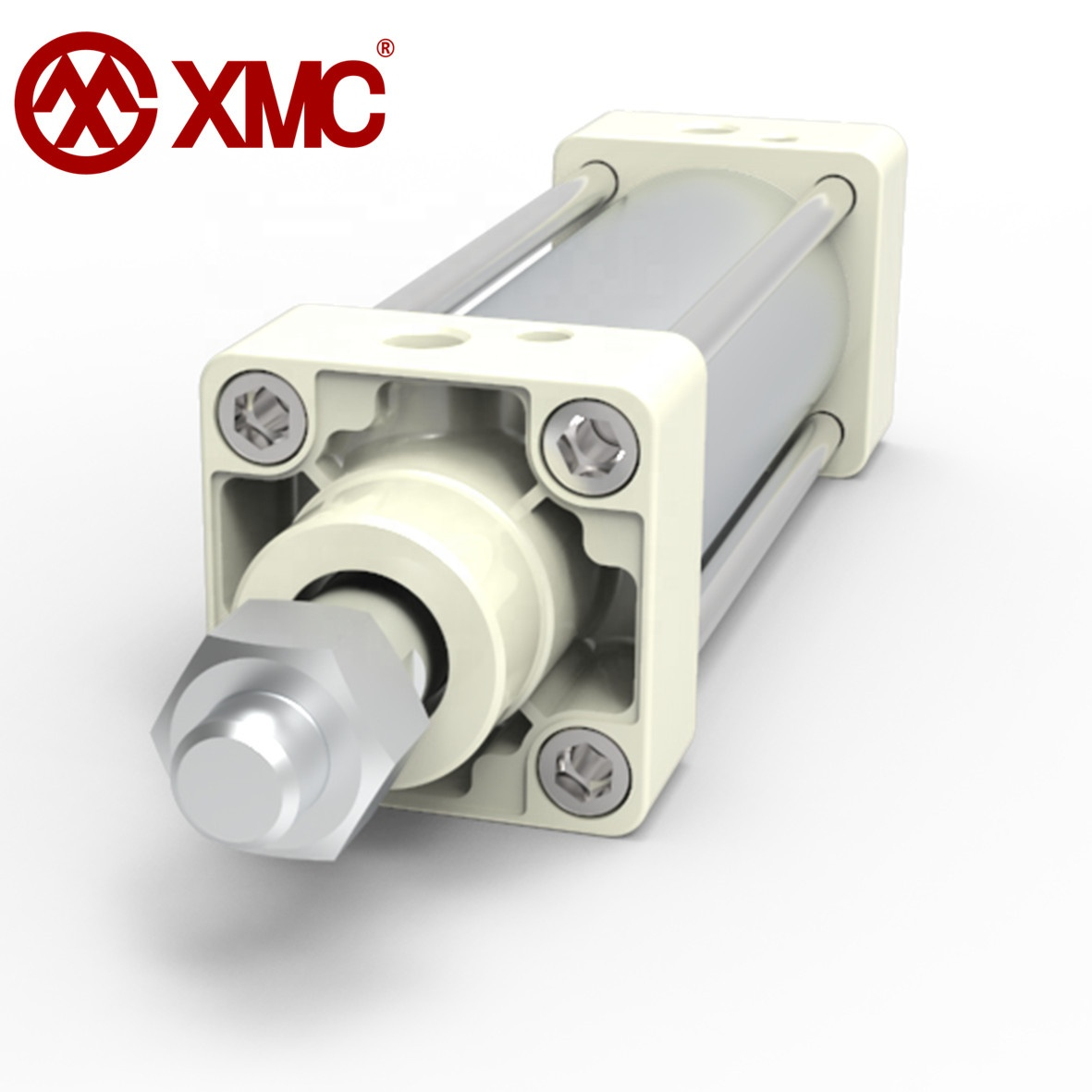 XMC Air Cylinder 10/16mm Bore 25~500mm Stroke Telescopic Screwed Piston Rod for Pnrumatic Hydraulic High Pressure Cylinder