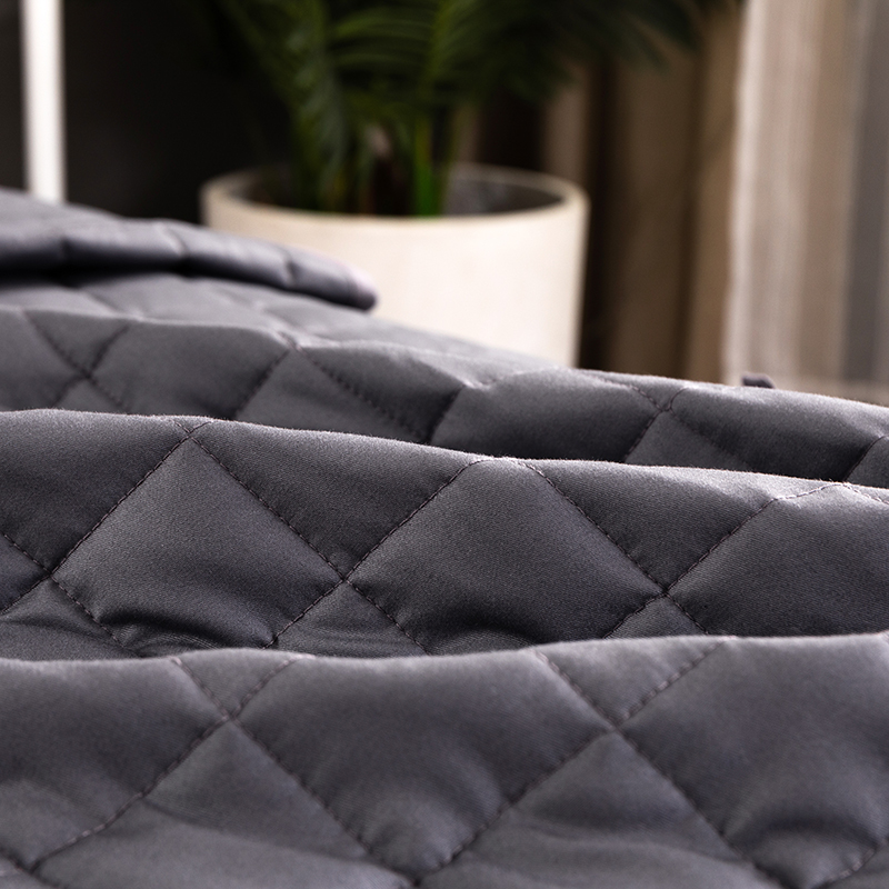 Premium Quality Comfortable Sleep Patent 5*5cm Small Square Grid Weighted Blanket