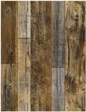 LUCKYYJ пилинг и палочка деревянная доска настенная бумага Shiplap из коричневого винила самоклеящаяся контактная бумага декоративные настенные ...(Китай)