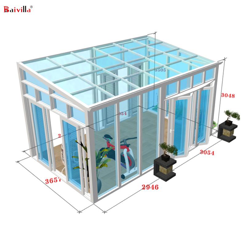 Красивый современный стеклянный дом контейнер дом сборные роскошные дома