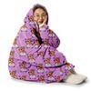 custom hooded blanket