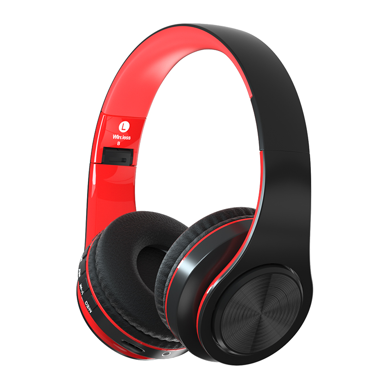 B3 Blue black color over ear wireless ecouteur bluetooth stereo wireless earphone & headphone - idealBuds Earphone | idealBuds.net