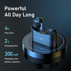 Earphone Bluetooth Handsfree Headphone Bluetoothv5.0 Wireless Wireless Earbuds Remax TWS-22 Invisible Cable Earphone Wireless Bluetooth 5.0 Earbuds With Charging Case Ear Headphones Handsfree Tws Headphone