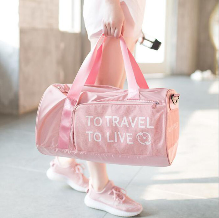 Custom Logo Canvas Travel Accessoires 2020 New Design Travel Duffel Garment Suit Bag Weekend Gym Bag