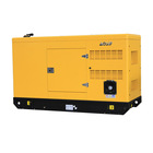 Wire Diesel 50kva Generator AOSIF 3 Phase 4 Wire 40kw 50kva Soundproof Generator Diesel Motor 220V Silent Type Generators